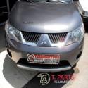 Τροπέτα Μπροστά Mitsubishi-Outlander-(2007-2012)   Ανθρακί