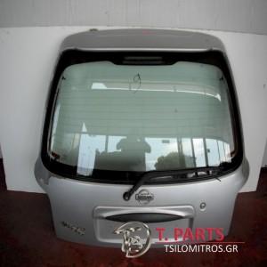 Τζαμόπορτα Nissan-Micra-(1998-2000)Κ11 Πίσω Ασημί