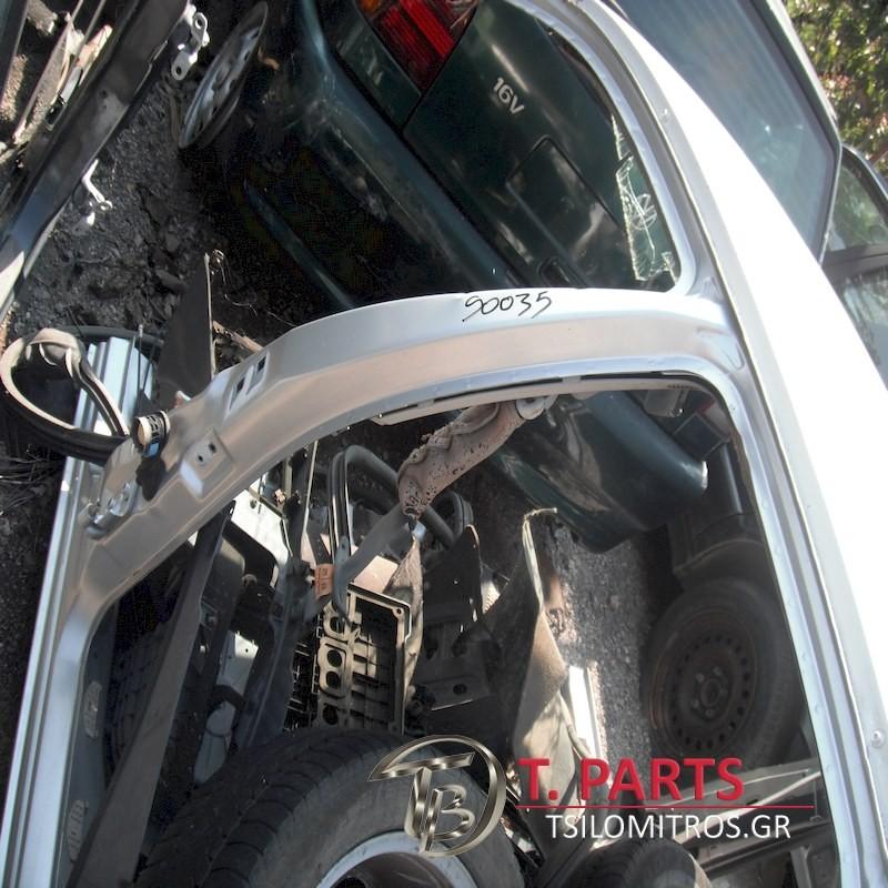 Κολώνες Alfa Romeo-Alfa 156-(1997-2003) 932 Μεσαίος(α)(ο) Αριστερά Ασημί