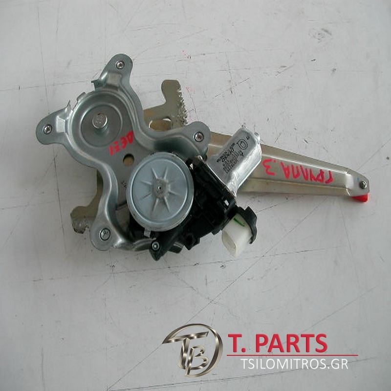 Γρύλλοι-Μηχανισμοί Παραθύρων Mitsubishi-L200-(2006-2009) Kaot Safari Πίσω Δεξιά  MN182353 AE062040-2760