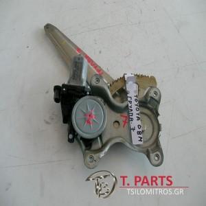Γρύλλοι-Μηχανισμοί Παραθύρων Toyota-Hilux-KUN25-(2006-2011) 4X4 Πίσω Αριστερά  85710-0K020 AE262100-3000