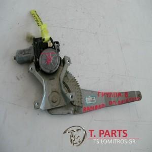 Γρύλλοι-Μηχανισμοί Παραθύρων Ford-Ranger-Mazda Bt-50-(2006-2011) Πίσω Αριστερά  DR65-73-58X AE262100-4270
