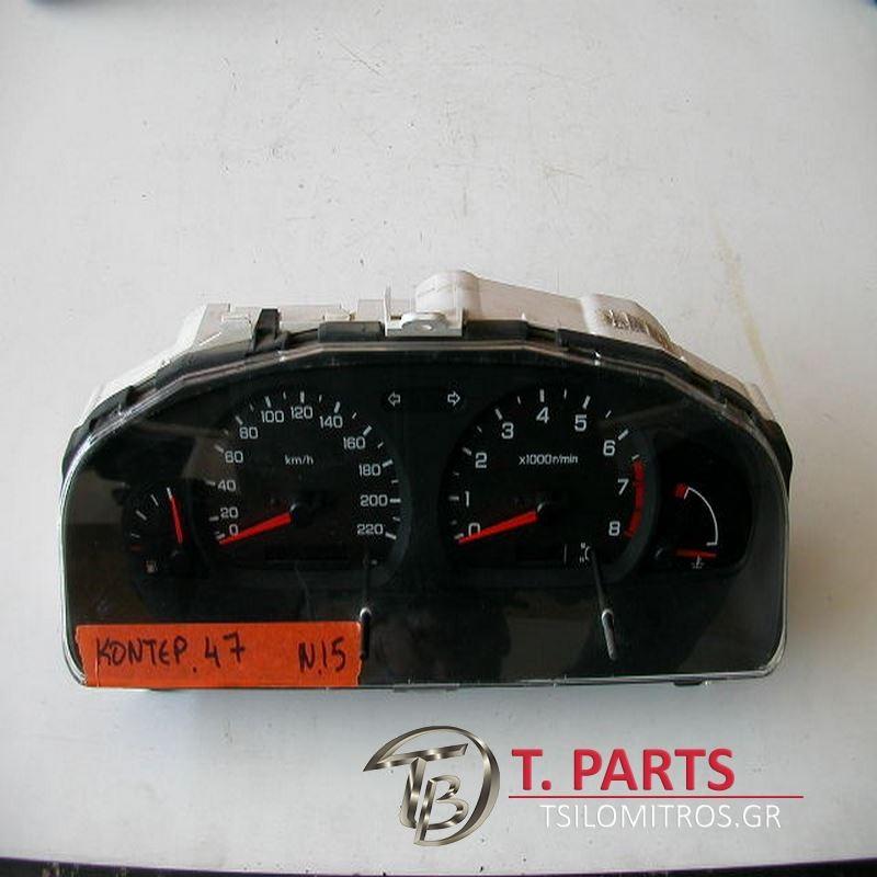 Καντράν-Κοντέρ Nissan-Almera-(1998-2000)Ν15  Μαύρο GF   K116312N200