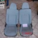 Καθίσματα/Σαλόνι Mitsubishi-L200-(1999-2001) K60T K70T  Μπλέ ανοικτό