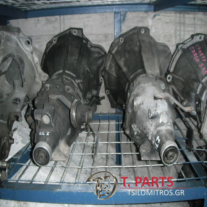 Σασμαν 4Χ2 Χειροκίνητα σασμάν Nissan-Urvan-(1987-1997) E24