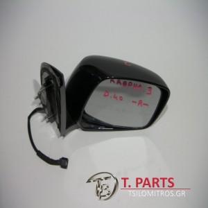 Καθρέπτες ηλεκτρικοί Nissan-Navara-D40-(2005-2010) Δεξιά Μαύρο