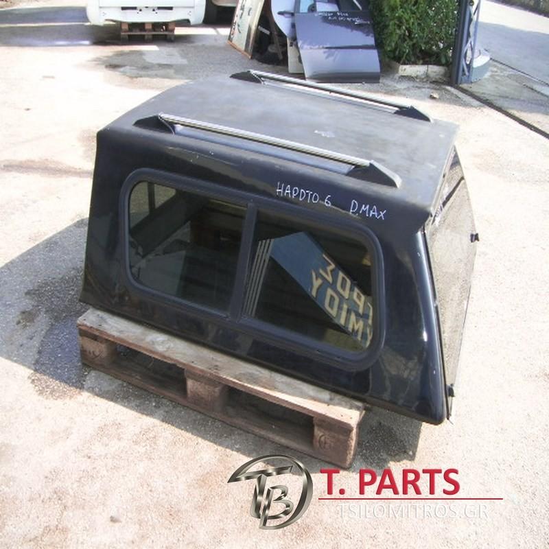 Hardtop Mitsubishi-L200-(2006-2009) Kaot Safari  Μαύρο