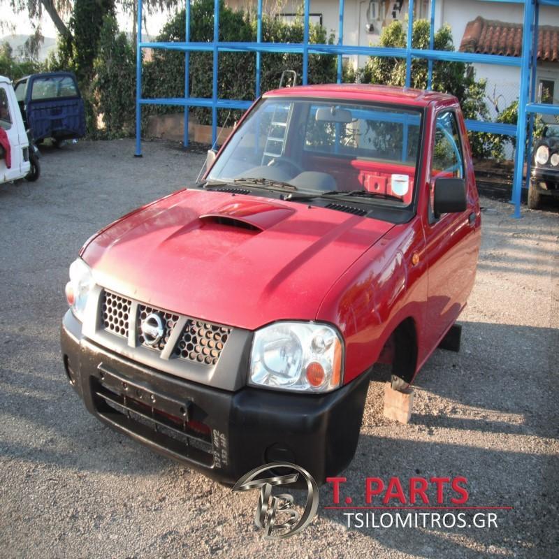 Καμπίνες Nissan-D22-(2002-2007)  Κόκκινο