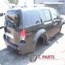 Καμπίνες Nissan-Pathfinder-(2005-2011)  Μαύρο