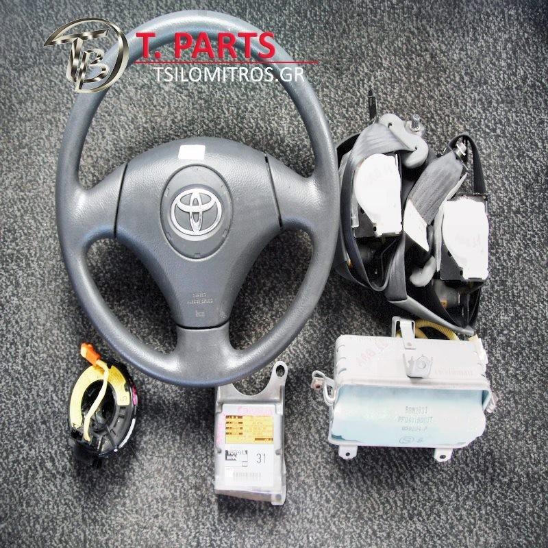 Αερόσακοι-Airbags Toyota-Corolla-(2002-2004) E120