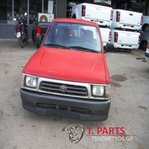 Καμπίνες Toyota-Hilux-(1998-2001) LN140 4X2 Diesel  Κόκκινο