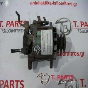 Δυναμό Toyota-Hilux-(1998-2001) LN140 4X2 Diesel   27040-54500 27030-54244 1002103810