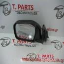 Καθρέπτες απλοί Toyota-Hilux-(2001-2005) KDN 4Χ4 Diesel Αριστερά Μαύρο
