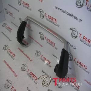 Μπάρες - Κάγκελα Mazda-Demio-(2001-2006)  Μπροστά Ασημί