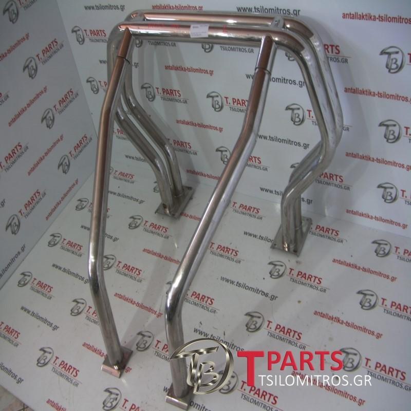 Roll Cage Toyota-Hilux-(1998-2001) LN170 4X4 Diesel  INOX