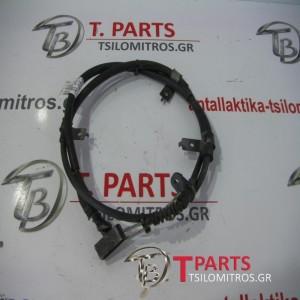 Σύρματα Χειροφρένου  Nissan-D22-(2002-2007) Πίσω Αριστερά
