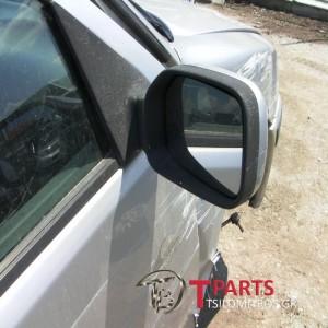 Καθρέπτες απλοί Peugeot-106-(1996-2001)  Δεξιά Ασημί