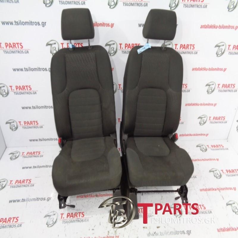 Καθίσματα/Σαλόνι Nissan-Navara-D40-(2010-2015) F/L  Γκρι Ασημί