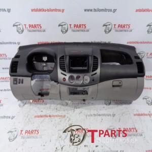 Ταμπλό Mitsubishi-L200-(2006-2009) Kaot Safari  Μαύρο Ασημί