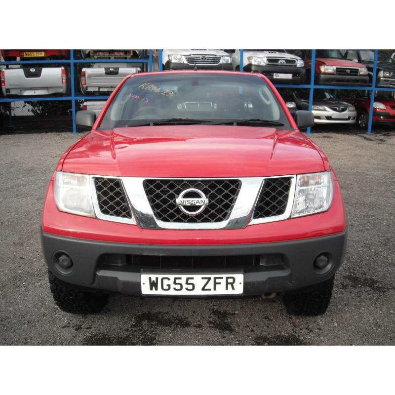 Καμπίνες Nissan-Navara-D40-(2005-2010)  Κόκκινο