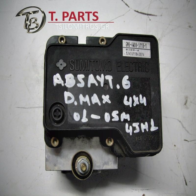 Abs Isuzu-D-Max-(2002-2007) 8Dh   897378813 512411903 GM6-4WDH-5118-1 BIB9-A 1245511843079