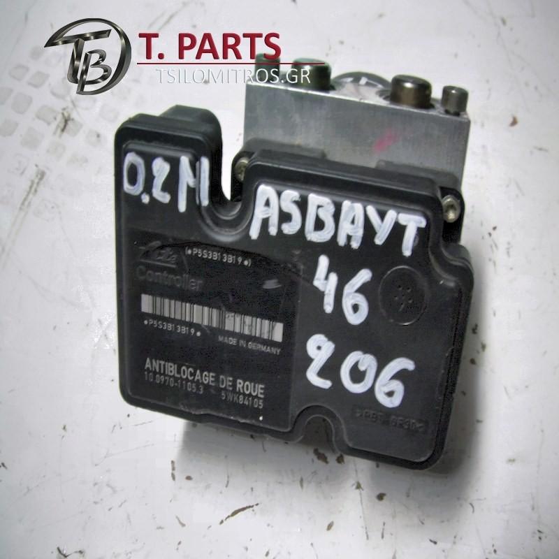 Abs Peugeot-206-(1998-2002) 2A 2C T3E   100207-20024