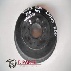Ταμπούρα Toyota-Hilux-(2001-2005) KDN 4Χ2 Diesel
