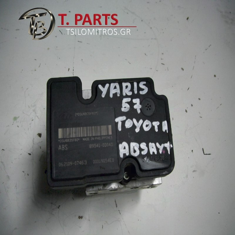 Abs Toyota-Yaris-(2003-2005) Xp10   00009054E0 895410D040 06210907463