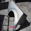 Φτερά Nissan-Navara-D40-(2005-2010) Πίσω Δεξιά Ασημί