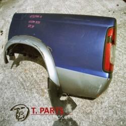 Φτερά Nissan-D22-(1998-2001) Πίσω Αριστερά Μπλέ