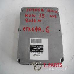 Εγκέφαλος + Κίτ Toyota-Hilux-(2005-2009) Kun15/25   89661-OKD31 MA175800-4330