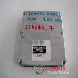 Εγκέφαλος + Κίτ Toyota-Hilux-(2005-2009) Kun15/25   89661-OKD10 MA175800-8792