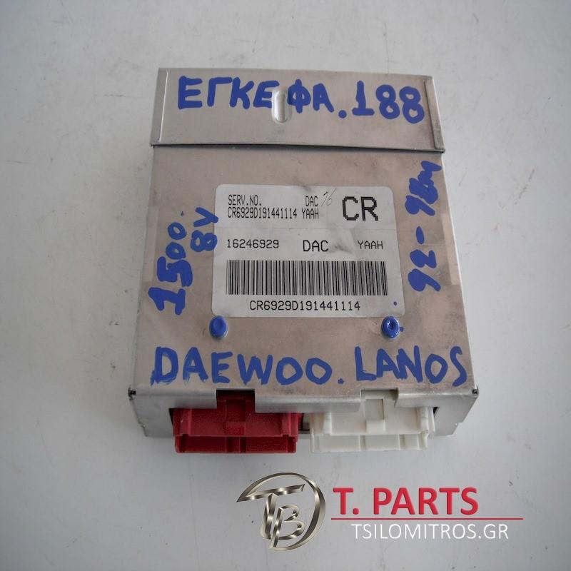Εγκέφαλος + Κίτ Daewoo-Lanos-(1997-2000) T100   16246929DAC